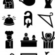 Hotel Icons — Stock Vector #3988791