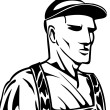 Industrial Worker - Imagen vectorial