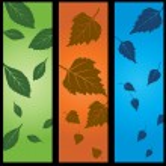 3 Panel Nature Set — Stock Vector #3989099