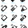 Wireless Devices — Stock Vector