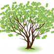 Money Tree — Imagen vectorial