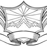 Snow Mountain Crest — Stock Vector #3989609