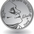 ������, ������: 3D image of a nickel