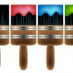 Paintbrush Set — Stock Vector #3989820