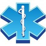 simbolo de medicina — Vector de stock