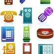 Phone Icons — Stock Vector #3989930