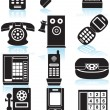 Royalty-Free Stock Vector Image: Phone Icons