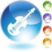 Violin Icon — Stock Vector