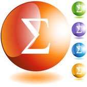 Ikony symbol braterstwa grecki — Wektor stockowy