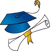 Graduation — Stock Vector