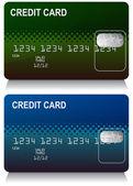 Credit Card Set — Stock Vector