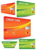 Credit Cards — Stock Vector