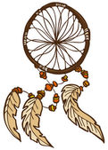 Dreamcatcher — Vector de stock
