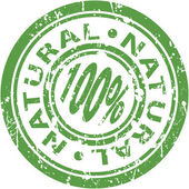 Natural Stamp — Vetorial Stock