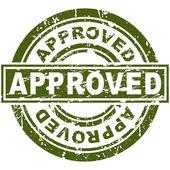 Selo aprovado — Vetorial Stock