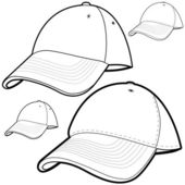 Baseball Cap Set — Stock Vector