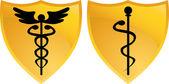 Caduceus Medical Symbol — Stock Vector