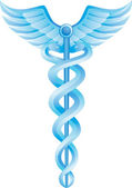 Caduceus Medical Symbol — Wektor stockowy