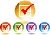 Checkmark Icon — Stock Vector