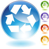 Recycling Icon — Stock Vector