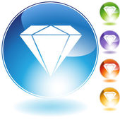 Diamond — Vector de stock