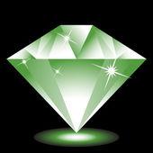 Emerald Jewel — Stock Vector