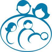 Family Logo — Stock Vector