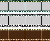 Film Negative — Vetor de Stock