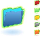 Folder — Stock Vector
