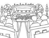 Funeral — Stock Vector
