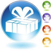 Geschenkkarton — Stockvektor