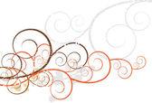 Artsy Swirls — Stock Vector