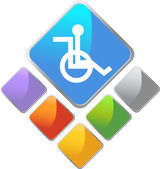 Disabled Symbol — Stock Vector