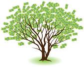 árvore do dinheiro — Vetorial Stock