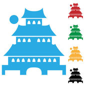 Pagoda — Stock Vector