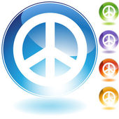 Peace Sign — Stock Vector
