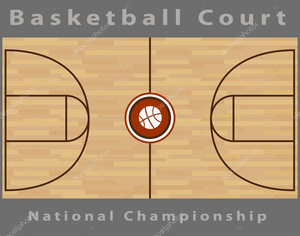 terrain de basket image vectorielle cteconsulting 3984540. Black Bedroom Furniture Sets. Home Design Ideas