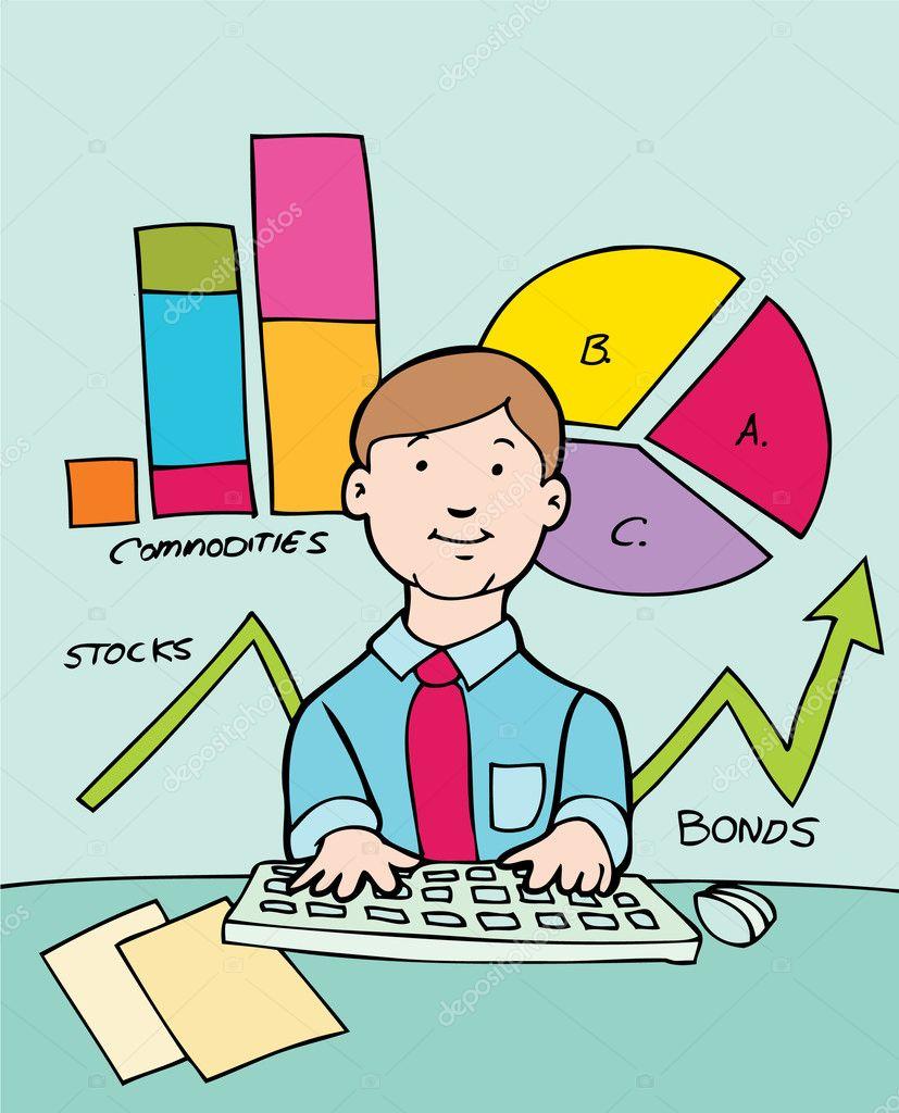 Financial Advisor — Stock Vector © cteconsulting #3985029
