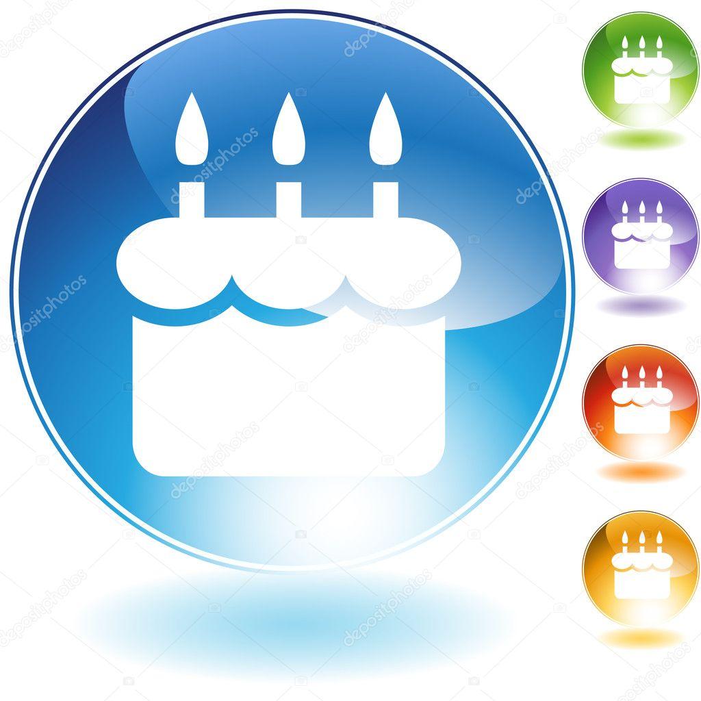 Facebook Cake Icon