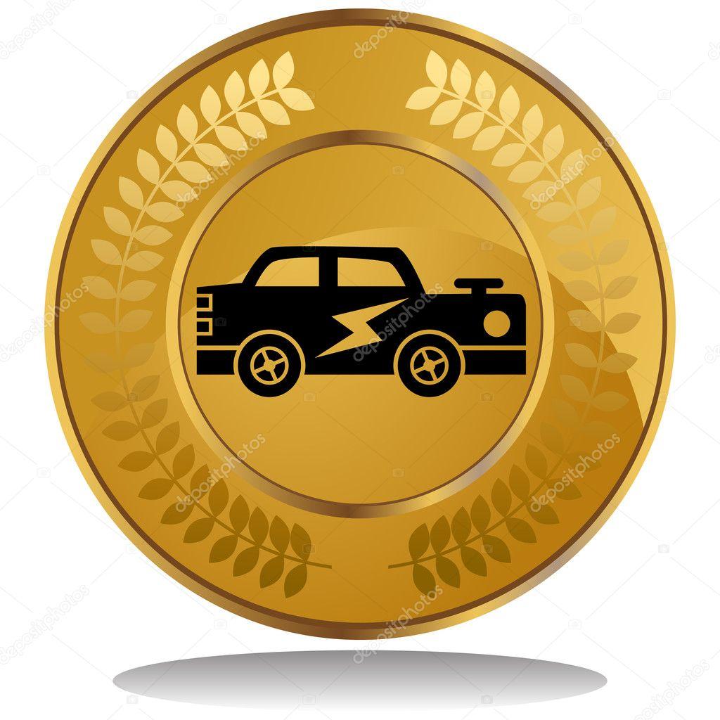 Gold Coin - Hot Rod - 3986204