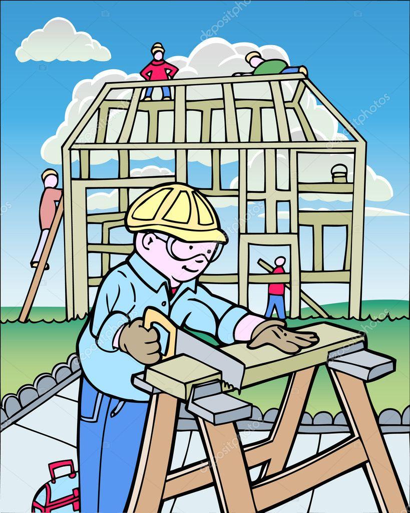 Building+A+House+Cartoon Building A House Cartoon http://depositphotos ...