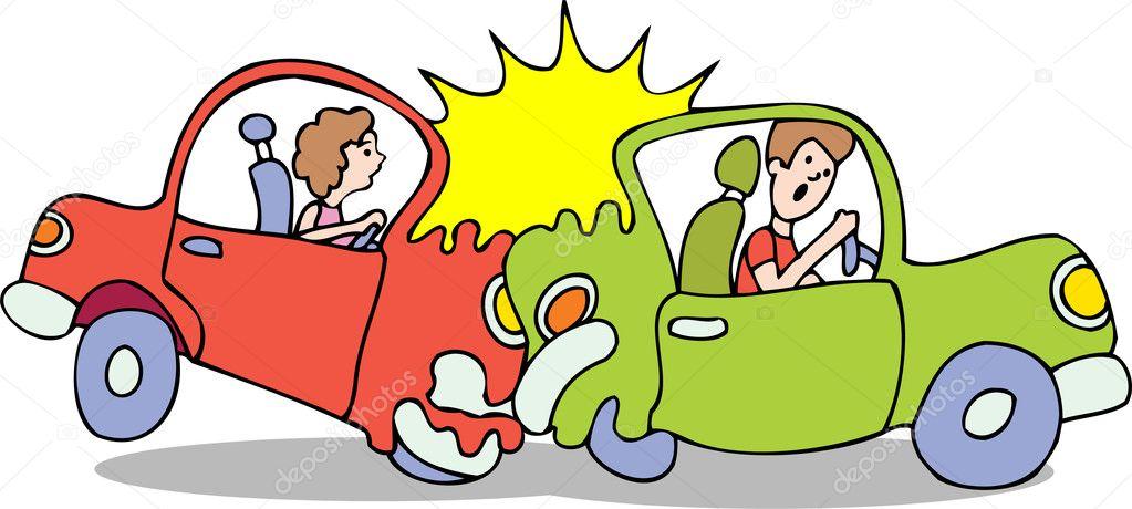 Cartoon Clip Art Car Accident
