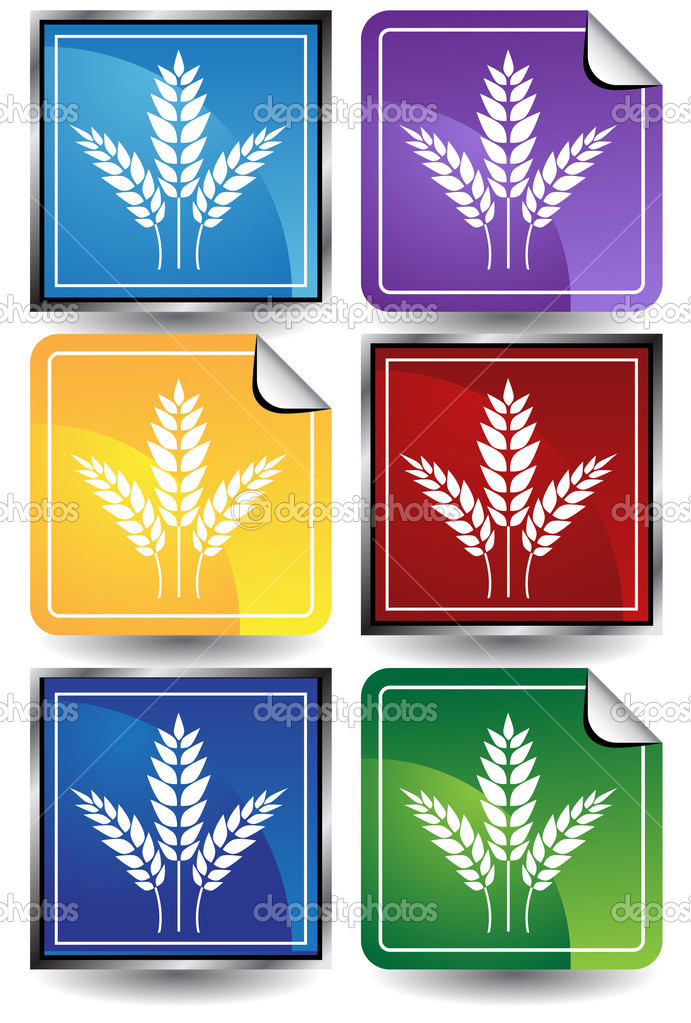 An image of a wheat bundle. — Stock Vector #3988311
