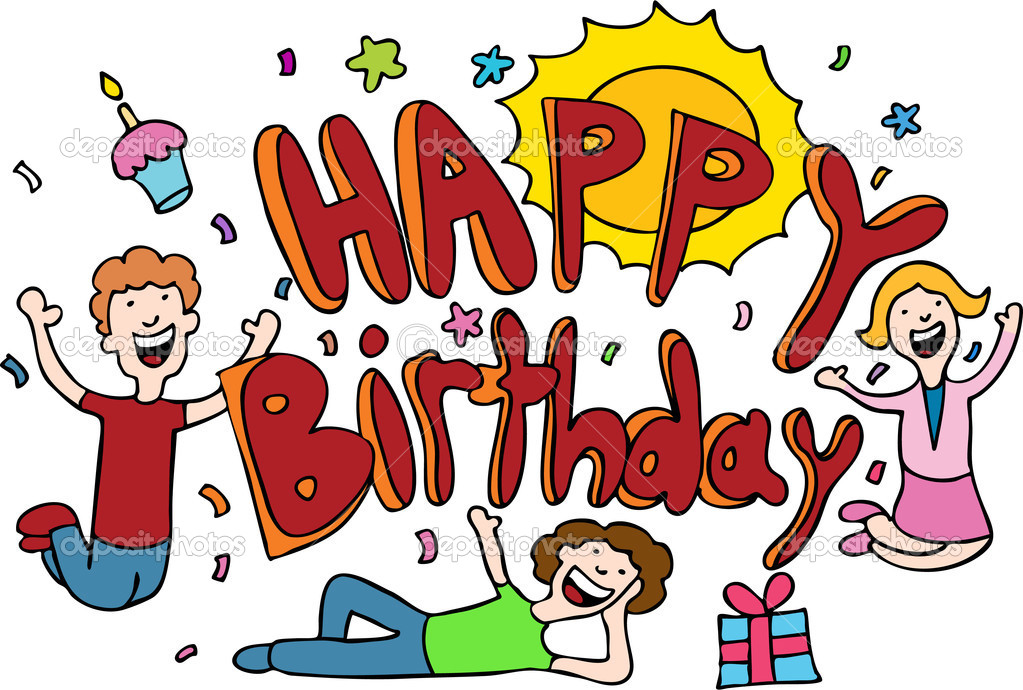 40Th Birthday Cartoons http://depositphotos.com/3988532/stock-illustration-Happy-Birthday-Cartoon.html