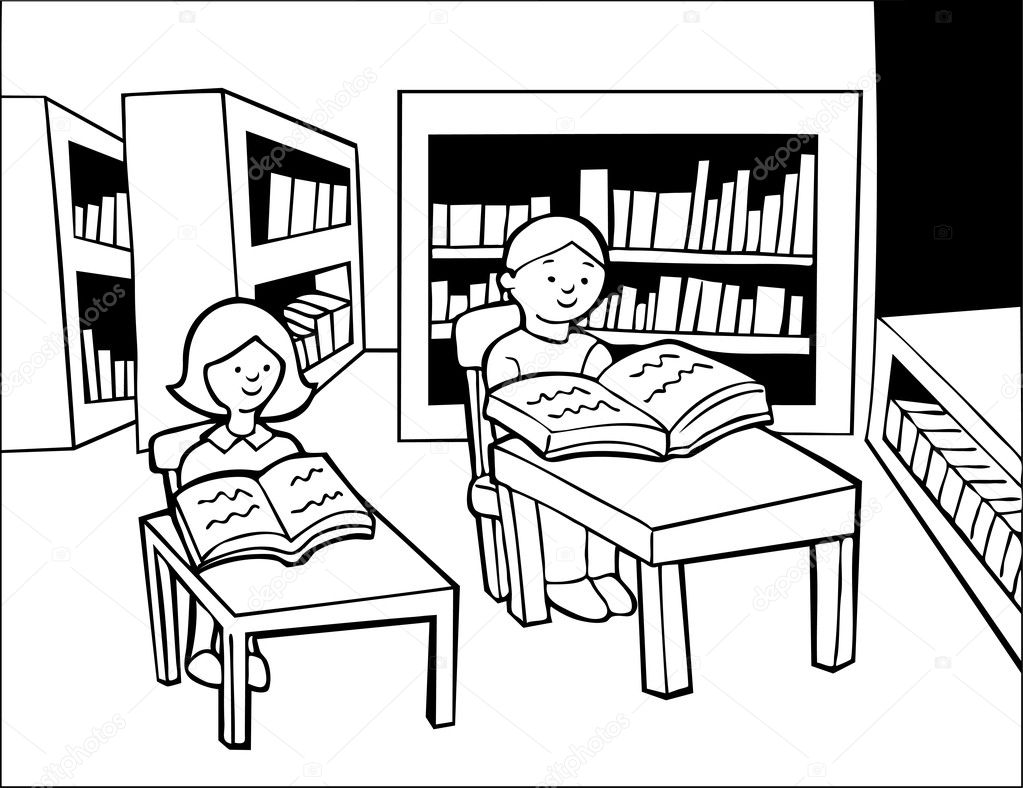Line Drawing Library : The gallery for gt studying cartoon black and white