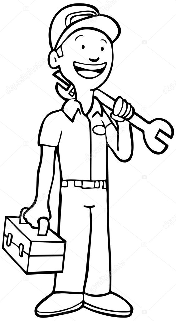 mechanic coloring pages mechanic tools coloring pages coloring pages