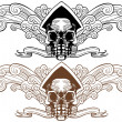 Royalty-Free Stock Imagen vectorial: Skull Theme