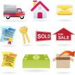 Real Estate Icon Set — Stock Vector #3990324