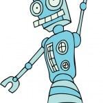 Постер, плакат: Robot Rolling