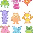 Royalty-Free Stock Vector Image: Aliens